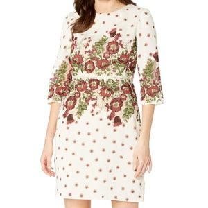 NWT Gabby Skye organza floral dress
